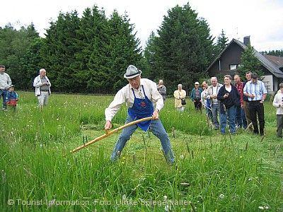 Wettmähen mit Traktorentreffen im Bernauer Hochtal Bernau im Schwarzwald