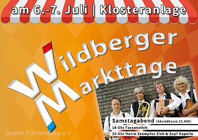 Wildberger Markttage