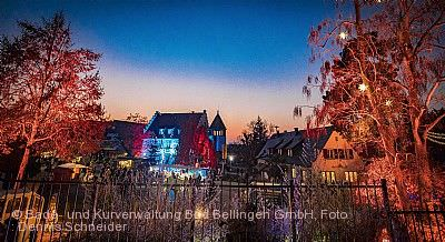 Winterlichter Bad Bellingen am 14.11.2020