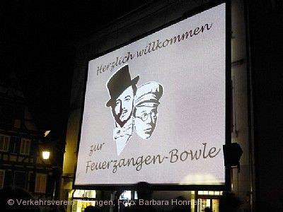 "Open Air Winternachtskino ""Die Feuerzangenbowle"" Tübingen"
