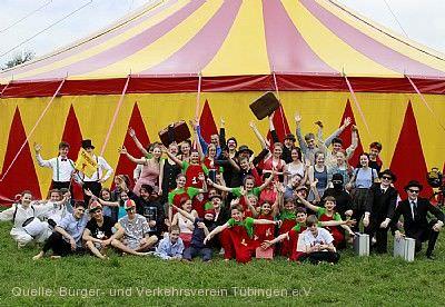 25 Jahre Zirkus Zambaioni Tübingen
